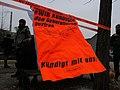 Protest banner at the Invalidenpark 02.jpg