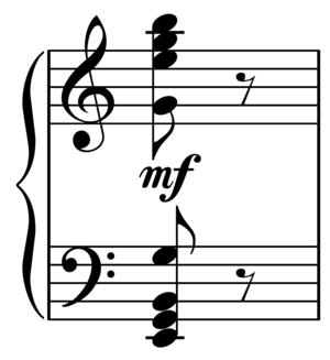 Symphony of Psalms - Psalms chord