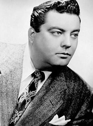 Jackie Gleason - Early publicity photo of Gleason