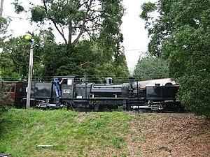 Victorian Railways G class - Image: Puffing Billy Garratt G42 02