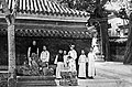 Puyi, Runqi and Wanrong in the Forbidden City.jpg