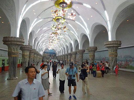 Pyongyang metro station 3