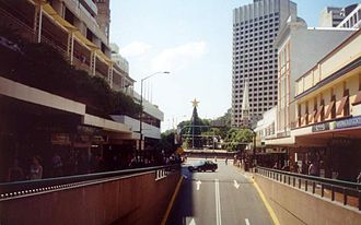 Albert Street, Brisbane - Image: Queen Street Bus station Albert Street entrance exit