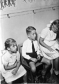 Queensland State Archives 3015 Children waiting in the Rail Dental Clinic 1946.png