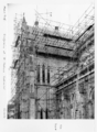Queensland State Archives 6459 Scaffolding at St Stephens Cathedral Brisbane June 1959.png