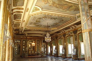 Palace of Queluz - The Hall of Ambassadors.