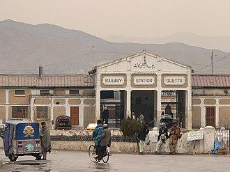 Balochistan, Pakistan - Quetta Railway Station