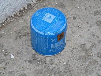 EN 417 - Pierceable gas cylinder