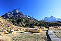 Ráno v Lodge de Montaña Paine Grande - panoramio.jpg
