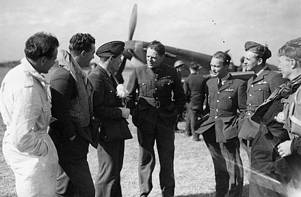 Pilots of No. 66 Squadron at Gravesend, September 1940 RAF Fighter Command 1940 HU104508.jpg