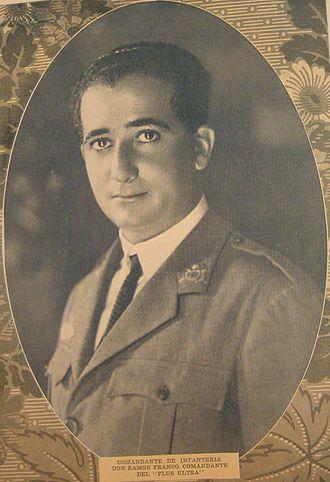 Ramón Franco - Image: RAMON FRANCO AÑO 1926
