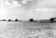 RE8 fighter aircraft of No 1 Squadron AFC in Palestine AWM photo B03559