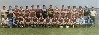 Motor Lublin - The 1989-90 Motor Lublin team.