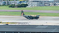 ROCAF C-130H 1317 Tied on Taipei Songshan Airport Apron 20140920.jpg