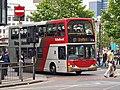 R Bullock bus MX04 MYY Scania N94 East Lancs in Manchester 25 July 2008.jpg
