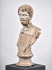Buste cuirassé de Septime Sévère Ra 120 b