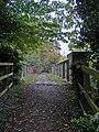 Rail footbridge, North Ferriby - geograph.org.uk - 584062.jpg
