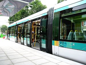 Île-de-France tramway Lines 3a and 3b - Image: Rame tramway paris T3