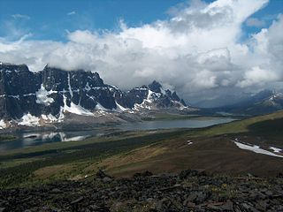 The Ramparts (Canada) mountain in Canada