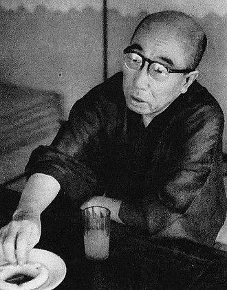 Edogawa Ranpo - Ranpo in 1954