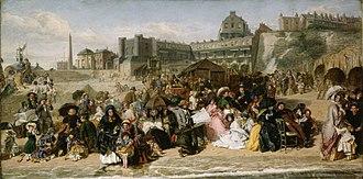 Ramsgate - Ramsgate Sands in 1854
