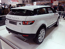 land rover range rover evoque wikip dia. Black Bedroom Furniture Sets. Home Design Ideas