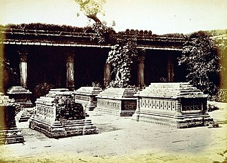Manek Chowk (Ahmedabad) - Tombs of Queens of Ahmed Shah I in 1866