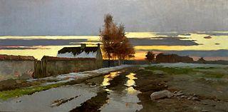 A daybreak (Landscape - Thaw).
