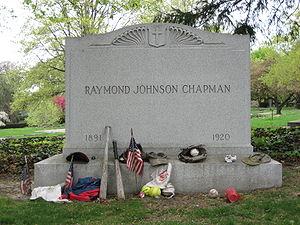 Ray Chapman - Ray Chapman's grave