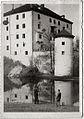 Razglednica gradu Snežnik 1950.jpg