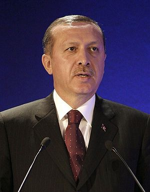 Recep Tayyip Erdoğan, Prime Minister of Turkey...