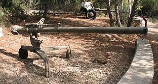 Recoilless rifle artillery piece