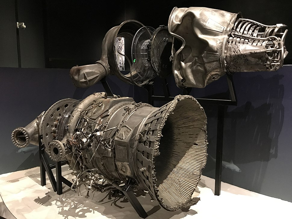 Recovered F-1 Engine parts