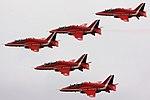 Red Arrows - Duxford September 2009 (3893299742).jpg