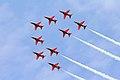 Red Arrows - RIAT 2007 (2475990499).jpg