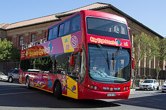 Busscar - City Sightseeing Pluss Tour bodied Volvo B7TL