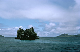 Reef - A reef surrounding an islet.