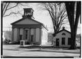Reform Church, Schoharie, Schoharie County, NY HABS NY,48-SCHO,7-1.tif