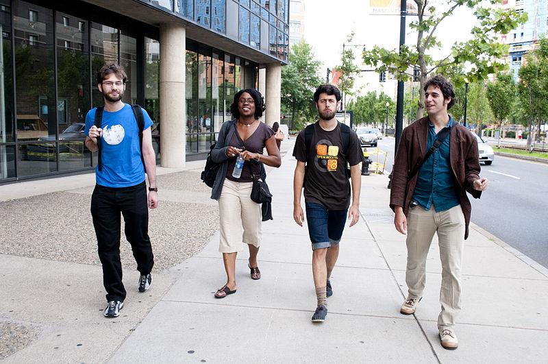 File:Regional Ambassadors walking in Boston.jpg