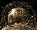 Regione mosana, cristo in maestà, 1180 ca., con i simboli degli evangelisti aggiunti nel 1870 quando fu tarsformato in spilla da piviale 04 marco.jpg