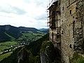 Rekonštrukcia hradu - panoramio.jpg