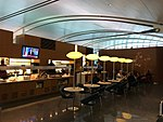 Relaxing at the Air Canada lounge before my flight to Frankfurt. (33516193485).jpg