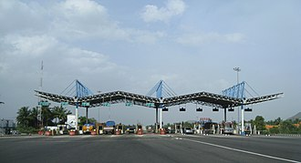 Reliance Infrastructure - Toll Plaza on NK Toll Road