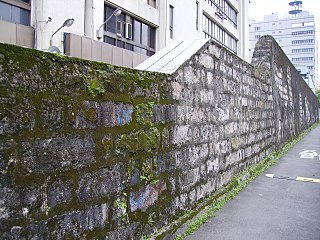 Remains of Taipei Prison Wall