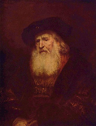 John II Casimir Vasa - Portrait of a Rabbi