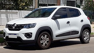 Renault Kwid Entry-level crossover produced by the French car manufacturer Renault