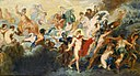 Renoir - Copy after the Painting by Rubens The Council of Gods, 1861.jpg