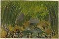 Republikeinse guerrilla's verlaten de stad en steken de rivier de 'Code' over samen met burgers die wegvluchten na de 'General Attack' Rijksmuseum NG-1998-7-35.jpeg