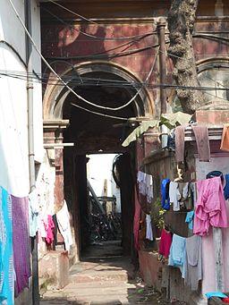 Residence of Rongolal Bandhopadhyay - Entrance
