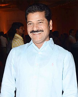 Revanth Reddy Indian politician